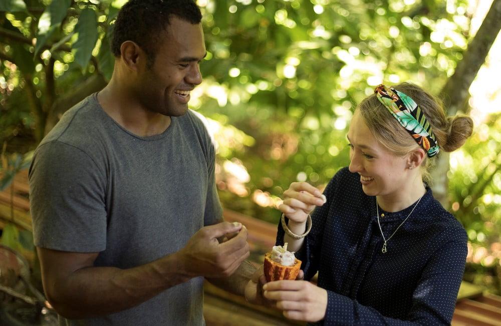 Touch it, taste it (KokoMana Fiji)
