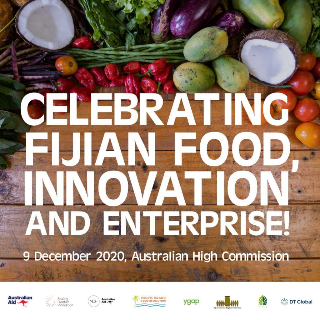 Food innovation event photo